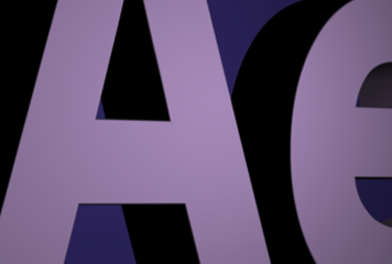 Adobe After Effects CS6. Shapes from vector files.